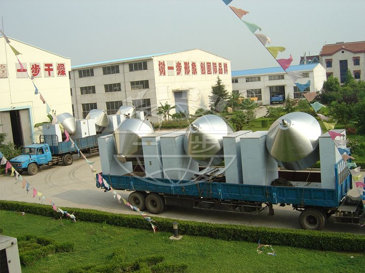 SZG Series Conical Vacuum Dryer( Rotary Conical Vacuum Dryer)