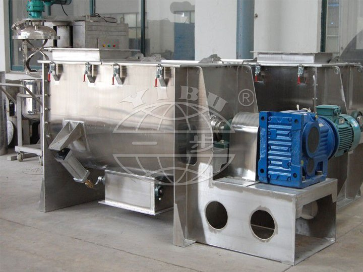 WLDH Series Horizontal Ribbon Mixer (Ribbon Mixer)