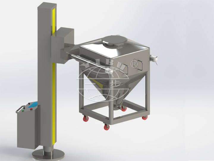 HDT Series Post hopper mixer( Post bin mixer )