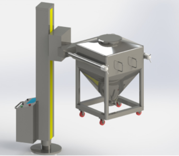 HDT Series Post  Hopper Mixer(  Post Bin Blender)