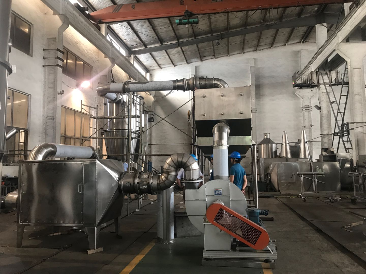 FGBX series  Sealed -Circuit Circulation Fluidizing Dryer